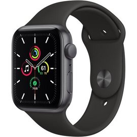 Apple Apple Watch SE (GPS, 44mm, Space Gray Aluminum, Black Sport Band) **NEW ITEM - COMING SOON - BACKORDERS ALLOWED**