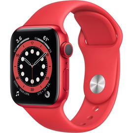 Apple Apple Watch Series 6 (GPS, 40mm, Red Aluminum, Red Sport Band) **NEW ITEM - COMING SOON - BACKORDERS ALLOWED**