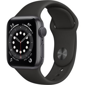 Apple Apple Watch Series 6 (GPS, 40mm, Space Gray Aluminum, Black Sport Band) **NEW ITEM - COMING SOON - BACKORDERS ALLOWED**