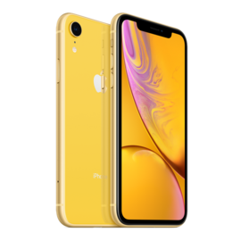 Apple Apple iPhone XR 64GB Yellow (Unlocked and SIM-free) - No power adapter or earpods