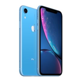 Apple Apple iPhone XR 64GB Blue (Unlocked and SIM-free) - No power adapter or earpods