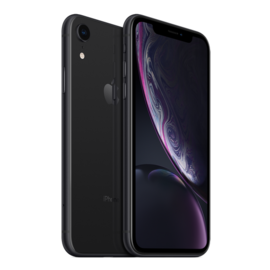 Apple Apple iPhone XR 64GB Black (Unlocked and SIM-free) - No power adapter or earpods