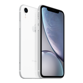Apple Apple iPhone XR 128GB White (Unlocked and SIM-free) - No power adapter or earpods
