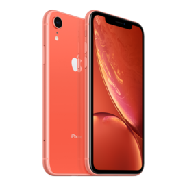 Apple Apple iPhone XR 128GB Coral (Unlocked and SIM-free) - No power adapter or earpods