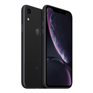 Apple Apple iPhone XR 128GB Black (Unlocked and SIM-free) - No power adapter or earpods