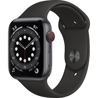 Apple Apple Watch Series 6 (GPS + Cellular, 44mm, Space Gray Aluminum, Black Sport Band) **SPECIAL ORDER**