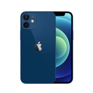 Apple Apple iPhone 12 mini 128GB Blue (Unlocked and SIM-free) - No power adapter or earpods included - **HIGHLY CONSTRAINED - LIMITED AVAILABILITY FROM DECEMBER 18 - BACKORDERS ALLOWED**