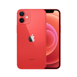 Apple Apple iPhone 12 mini 128GB Red (Unlocked and SIM-free) - No power adapter or earpods included - **HIGHLY CONSTRAINED - LIMITED AVAILABILITY FROM DECEMBER 18 - BACKORDERS ALLOWED**