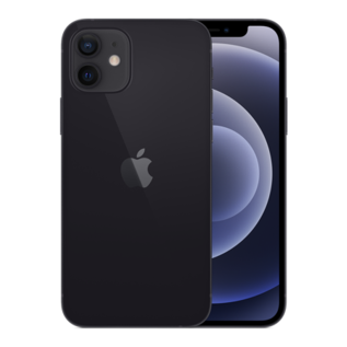 Apple Apple iPhone 12 64GB Black (Unlocked and SIM-free) - No power adapter or earpods included - **HIGHLY CONSTRAINED - LIMITED AVAILABILITY FROM DECEMBER 18 - BACKORDERS ALLOWED**
