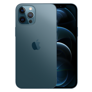 Apple Apple iPhone 12 Pro Max 512GB Pacific Blue (Unlocked and SIM-free) - No power adapter or earpods included - **HIGHLY CONSTRAINED - LIMITED AVAILABILITY FROM DECEMBER 18 - BACKORDERS ALLOWED**
