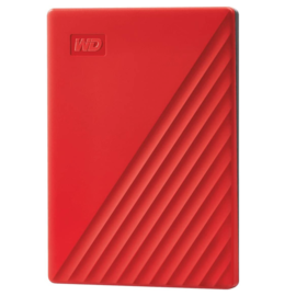 Western Digital Western Digital 1TB My Passport USB 3.0 Portable External Hard Drive - Red