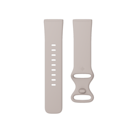 Fitbit Fitbit Versa 3 & Sense Accessory Infinity Band - Lunar White - Small