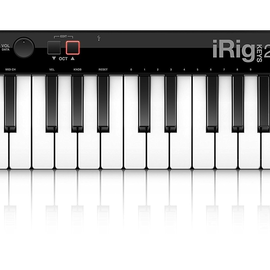 IK Multimedia IK Multimedia iRig Keys 25 25-key MIDI controller - For Mac/PC Only (WHILE SUPPLIES LAST)