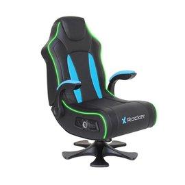 X Rocker X Rocker CXR3 Dual Audio Pedestal Gaming Chair Black/Teal (assembly required)