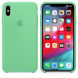 Apple Apple Silicone Case for iPhone Xs Max - Spearmint (WSL)