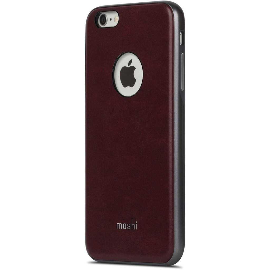 new product fae57 b7af2 Moshi Moshi iGlaze Napa Case for iPhone 6/6s Plus - Red ALL SALES FINAL -  NO RETURNS OR EXCHANGES