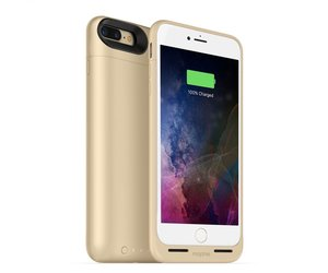 the best attitude 7707c 0a20d Mophie Juice Pack Air Case for iPhone 8/7 Plus Gold (2420 mAh)
