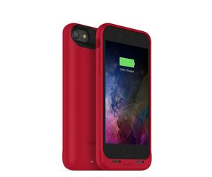 save off 5ebc0 d067e Mophie Juice Pack Air Case for iPhone 8/7 Red (2525 mAh)