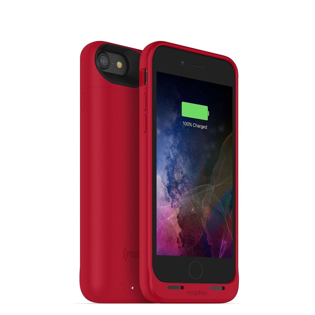new arrival 035c9 08617 Mophie Mophie Juice Pack Air Case for iPhone 8/7 Red (2525 mAh)