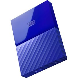 Western Digital Western Digital 1TB My Passport USB 3.0 Portable Hard Drive - Blue (ATO)