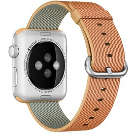 Apple Apple Watch Band 42mm Gold/Red Woven Nylon 145-215mm (WSL)