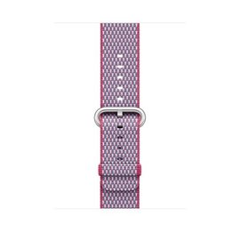 Apple Apple Watch Band 42mm Berry Check Woven Nylon 145-215mm (ATO)