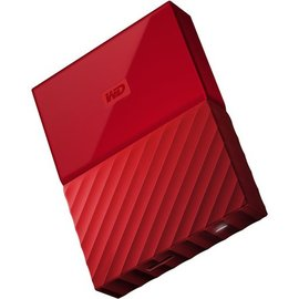 Western Digital Western Digital 2TB My Passport USB 3.0 Portable Hard Drive - Red