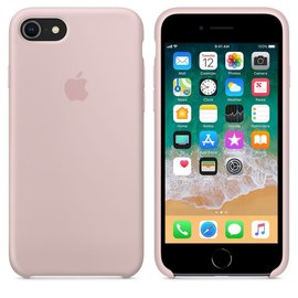 Apple Apple Silicone Case for iPhone 8/7 - Pink Sand