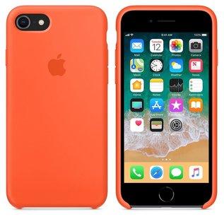 Apple Apple Silicone Case for iPhone 8/7 - Spicy Orange