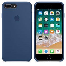 Apple Apple Silicone Case for iPhone 8/7 Plus - Blue Cobalt