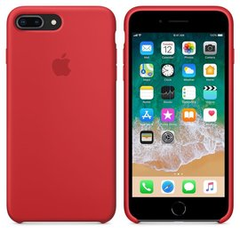 Apple Apple Silicone Case for iPhone 8/7 Plus - PRODUCT RED