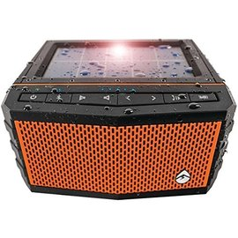 EcoXgear Ecoxgear SolJam Solar Powered Bluetooth Waterproof Speaker Orange