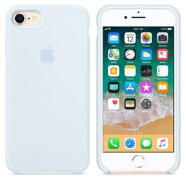 Apple Apple Silicone Case for iPhone 8/7 - Sky Blue