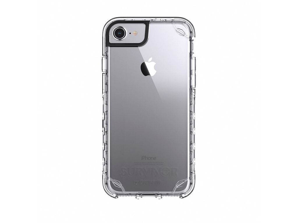 official photos bdb89 fea6b Griffin Griffin Survivor Strong Case for iPhone 8/7/6s/6 - Clear