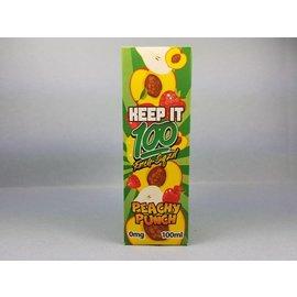 Keep It 100 Peachy Punch 100ml 00mg