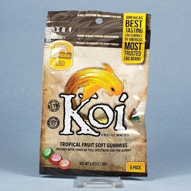 Koi Koi CBD Tropical Gummies 60mg Full Spectrum