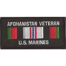 Jerwolf Enterprises Patch Afghan Vet Marines