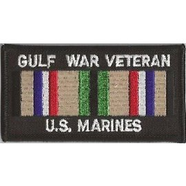 Jerwolf Enterprises Patch Gulf War Vet Marines