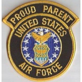 Jerwolf Enterprises Patch Proud Parent Air Force 3in
