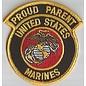 Jerwolf Enterprises Patch Proud Parent Marines 3in