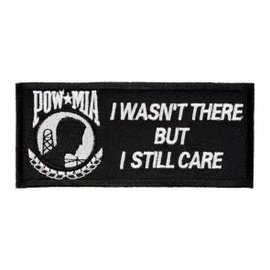 Patch Stop Patch POW MIA I Wasn't There