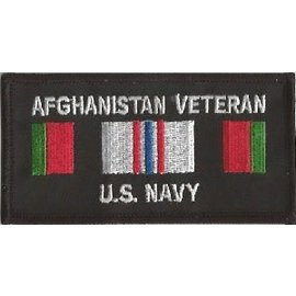 Jerwolf Enterprises Patch Afghan Vet Navy 4in