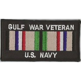 Jerwolf Enterprises Patch Gulf War Vet Navy