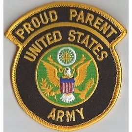 Jerwolf Enterprises Patch Proud Parent Army 3in