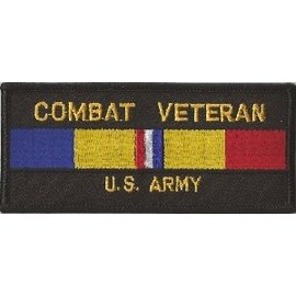 Jerwolf Enterprises Patch Combat Veteran Army