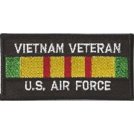 Jerwolf Enterprises Patch Vietnam Vet Air Force 4in