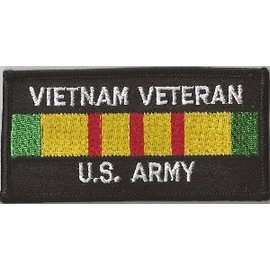 Jerwolf Enterprises Patch Vietnam Vet Army 4in
