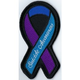 Jerwolf Enterprises Patch Suicide Awareness Ribbon