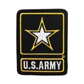 Eagle Emblems Patch US Army Star Logo 3in