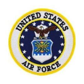 Eagle Emblems Patch USAF Logo 3in